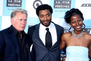 "Martin Sheen, Chiwetel Ejiofor and Elle Downs at the Los Angeles Film Festival opening night screening of the film ""Talk to Me""."